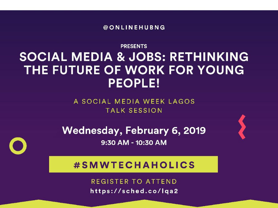 Thousands Gather In Lagos for #SMWTechaholics To Discuss The Future Of Work, Social Media And Technology by @OnlineHubNG